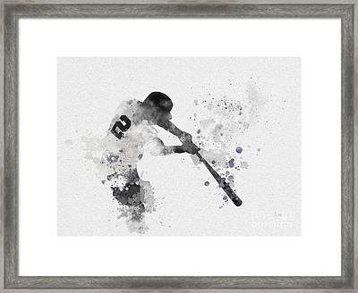 Derek Jeter Framed Print