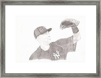 Derek Jeter - Yankee Captain Framed Print