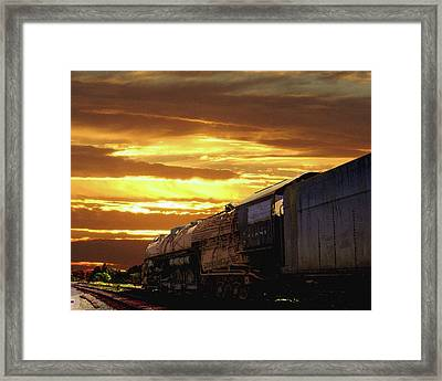 Derelict At Dawn Framed Print by Timothy Bulone