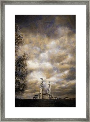 Derelict Coal Mine By Js Framed Print by John Springfield