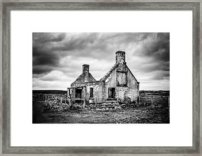 Derelict Croft Framed Print