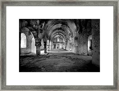 Derelict Cypriot Church. Framed Print