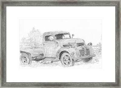 Derelict Dodge Framed Print by David King