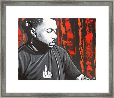 Derrick Carter Framed Print