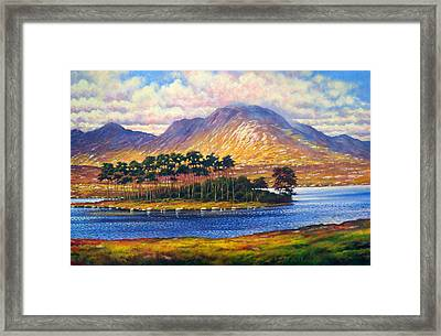 Derryclare,connemara,ireland Framed Print by Alan Kenny