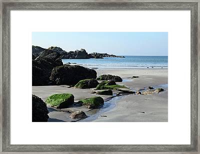 Derrynane Beach Framed Print
