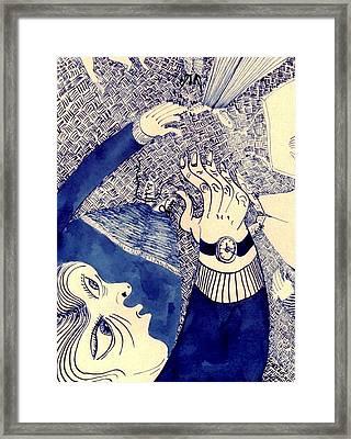 Dervish Framed Print by Jesse Engelbrecht