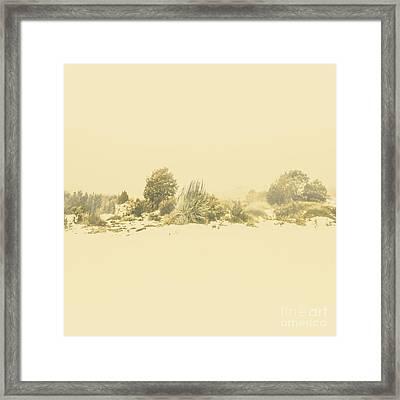 Derwent Bridge Winter Scene Framed Print