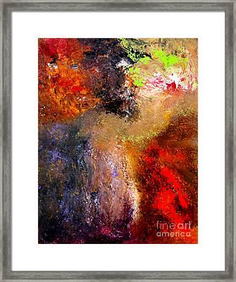 Desarroi Framed Print by Ayasha Loya