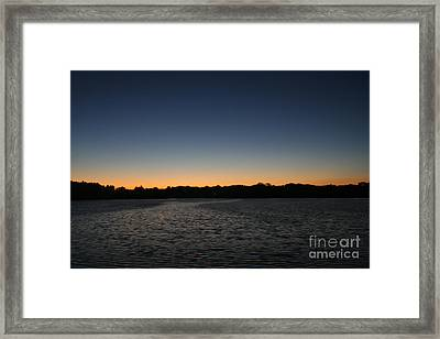 Descending  Framed Print