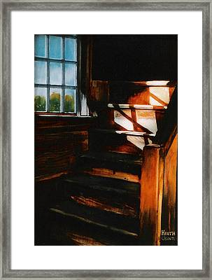 Descending Light Framed Print by Keith Gantos