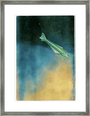 Descent Into Jupiter Framed Print