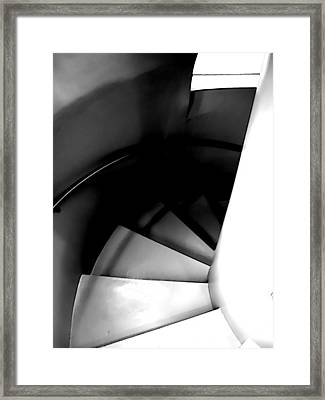 Descent Framed Print