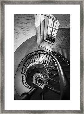 Descent Framed Print by Kristopher Schoenleber