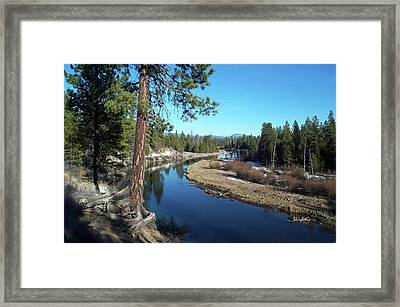 Deschutes River Framed Print
