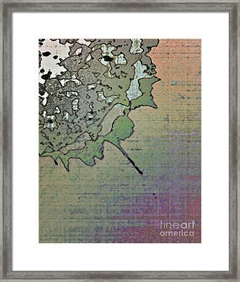 Desconstructed 1 Framed Print