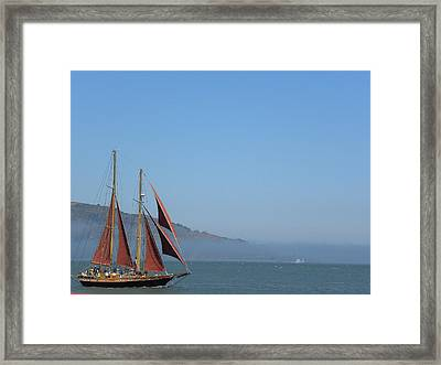 Framed Print featuring the photograph Desde La Bahia by Fanny Diaz