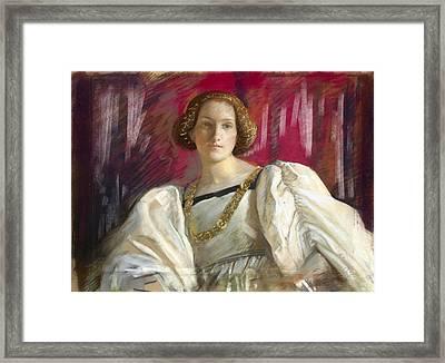 Desdemona Framed Print
