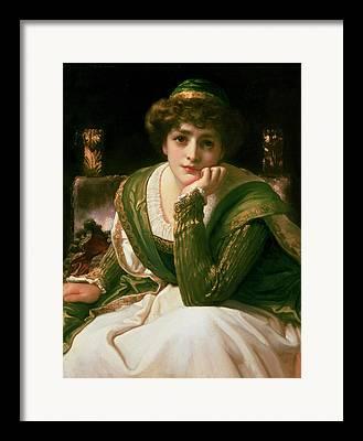 Desdemona Framed Prints