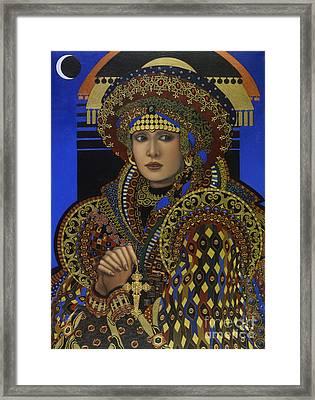Desdemona Framed Print by Jane Whiting Chrzanoska