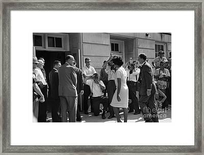 Desegregation, 1963 Framed Print