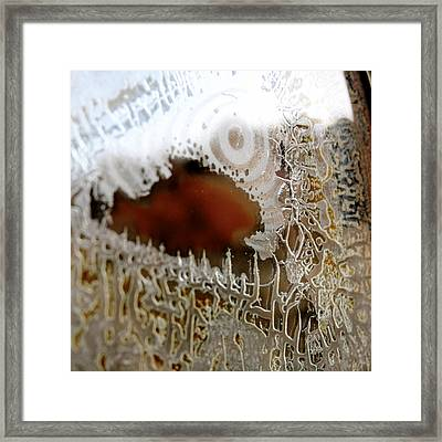 Desert Abstract 1 Framed Print by Diana Shay Diehl