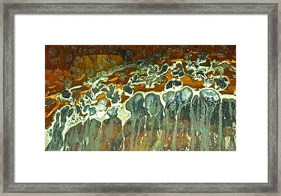 Desert Abstract 2 Framed Print by Diana Shay Diehl