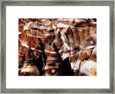 Desert Abstract Framed Print