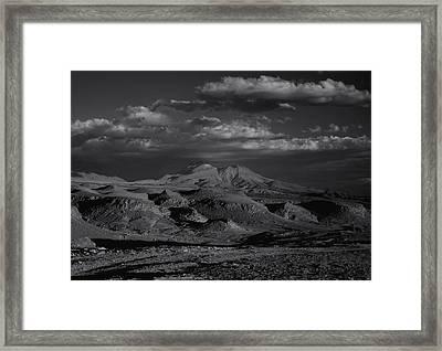Desert Framed Print by Amarildo Correa