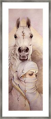 Desert Angels Framed Print by Johanna Pieterman