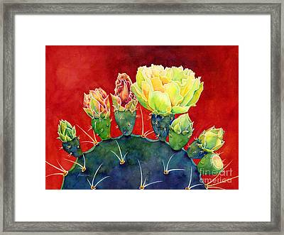 Desert Bloom 3 Framed Print
