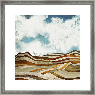 Desert Calm Framed Print