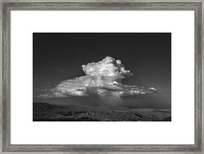 Desert Cloudburst Framed Print by Joseph Smith