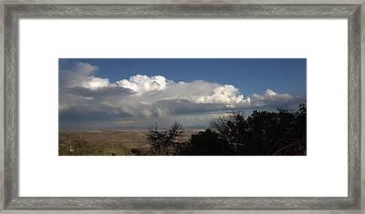 Desert Clouds Framed Print by Farol Tomson