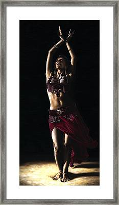 Desert Dancer Framed Print by Richard Young
