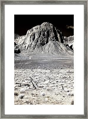 Desert Dimenstions Framed Print by John Rizzuto