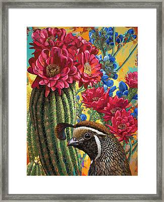 Desert Dreaming Framed Print by David Palmer