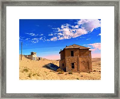 Desert Dreamscape 2 Framed Print