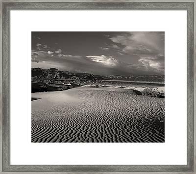 Desert Dunes Framed Print by Gary Cloud