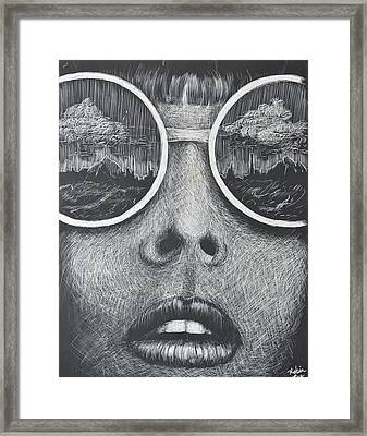 Desert Dweller Framed Print by Robin Lee
