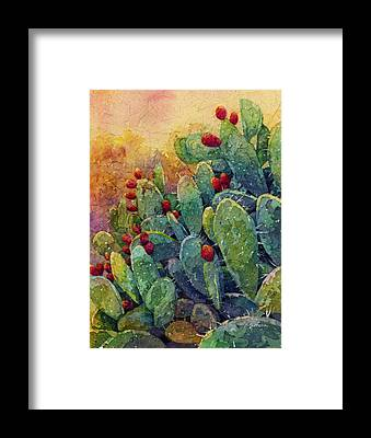 Prickly Pear Framed Prints