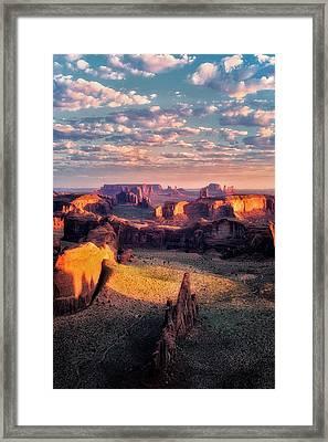 Desert Glow   Framed Print