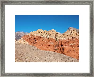 Desert Hills Framed Print by Rae Tucker