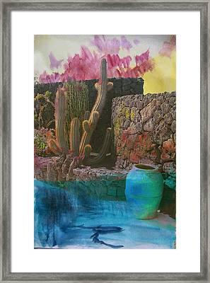 Desert Landscape Framed Print