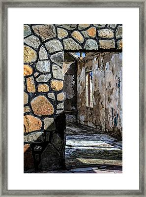 Desert Lodge View 1 Framed Print