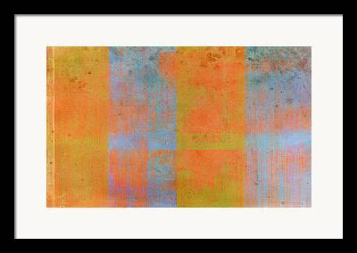 Green Contemporary Digital Art Framed Prints