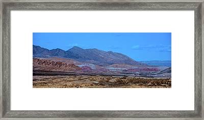 Desert Night Framed Print by Onyonet  Photo Studios