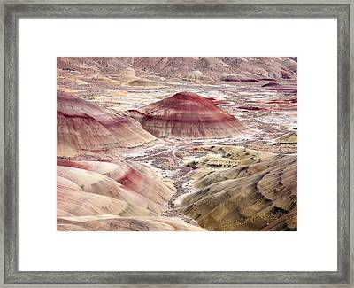 Desert Palette Framed Print by Mike  Dawson