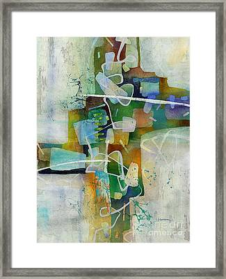 Desert Pueblo  Framed Print by Hailey E Herrera
