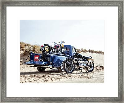 Desert Racing Framed Print